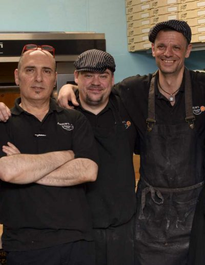 chefs and his cooks
